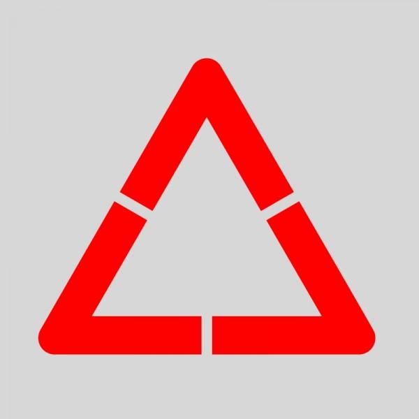 Plantilla pintar señal advertencia peligro personalizable XL