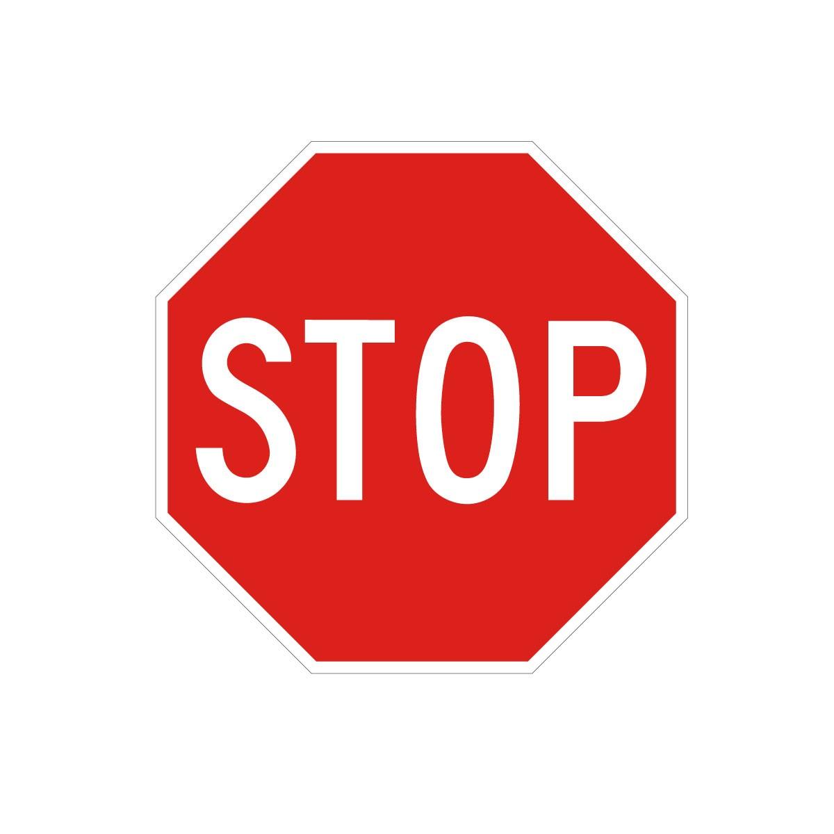 Señal de circulación R2 STOP - Señalización y Seguridad