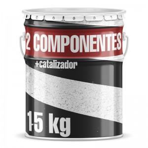 Pintura Dos Componentes Manual  15 kg + catalizador