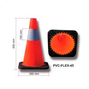 Cono de 1 pieza PVC-FLEX 45 cm