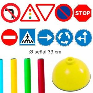 Pack 10 señales Aula infantil Educación Vial