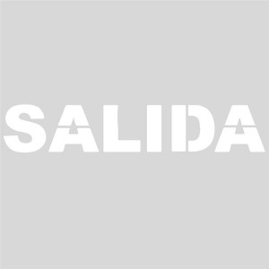 Plantilla SALIDA