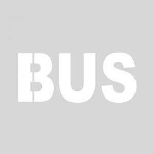 Plantilla pintar señal parada/carril BUS