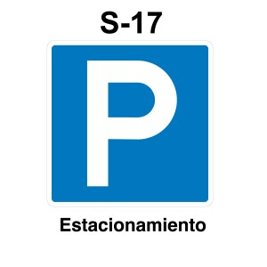 Señal Parking