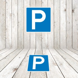 Vinilo Señal de circulación S17 Parking