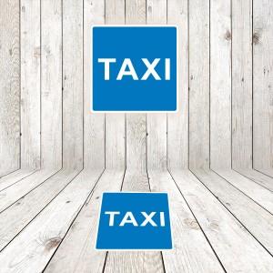 Vinilo Señal de circulación S18 Estacionamiento reservado para Taxis