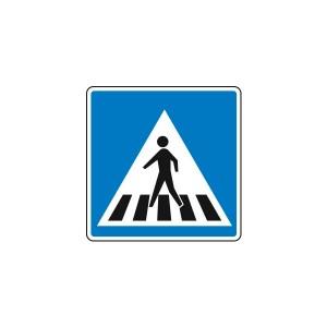 Señal para Educación Vial - Paso de Peatonal