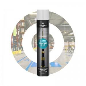 Spray/aerosol trazador de líneas de marcado y señalización TRACING PLUS