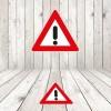 Vinilo señalización adhesivo señal tráfico Otros Peligros