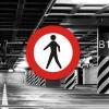 Señal de circulación R116 Entrada Prohibida Peatones