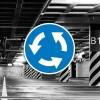 Señal de circulación R402 Intersección de sentido giratorio obligatorio