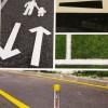 Spray/aerosol trazador de líneas de marcado y señalización