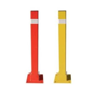 Hito Fijo - Pilona Metálica Cuadrada 80cm