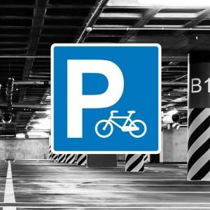 Señal de circulación S17 Parking bicicletas