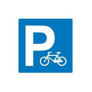 Vinilo señalización adhesivo señal Parking bicicletas