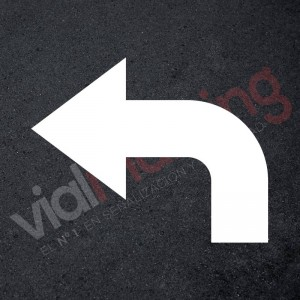 Plantilla precortada para pintar señal deflecha cruce tres direcciones en polipropileno, pvc o aluminio. Marcación vial horizontal y vertical,señalizaci&o