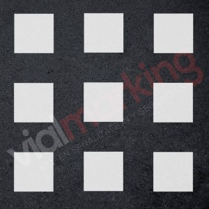 Plantilla cuadrados pintar juegos tradicionales