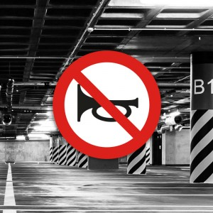 Señal de circulación R310 Advertencias acústicas prohibidas