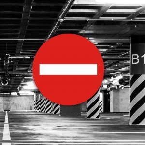 Señal de circulación R101 Entrada prohibida parking