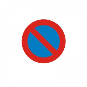 Señal para Educación Vial - Prohibido estacionamiento