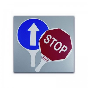 Raqueta Señal: Stop - Paso