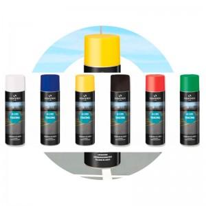 Spray/aerosol trazador de líneas de marcado y señalización TRACING 500 ml