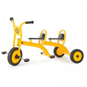 Triciclo escolar doble educación vial