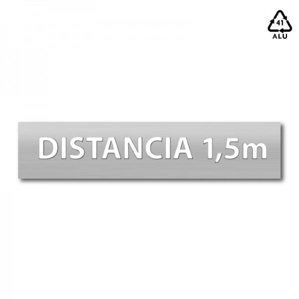 """Plantilla pintar señal """"distancia 1,5 m"""