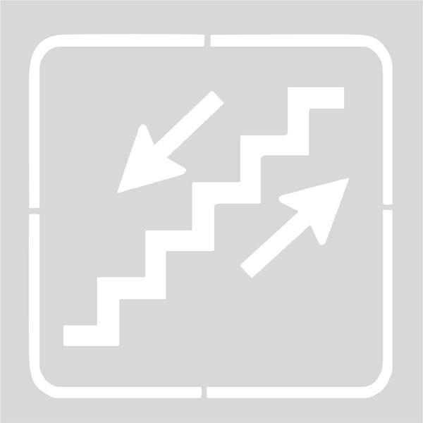Plantilla escaleras
