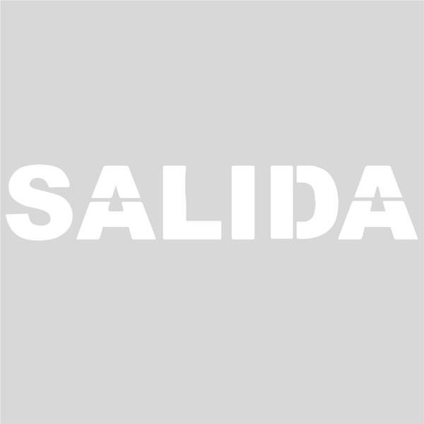 Plantilla SALIDA (una pieza)