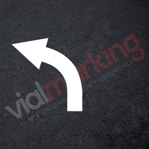 Plantilla rotulación parking flecha dirección única polipropileno ...