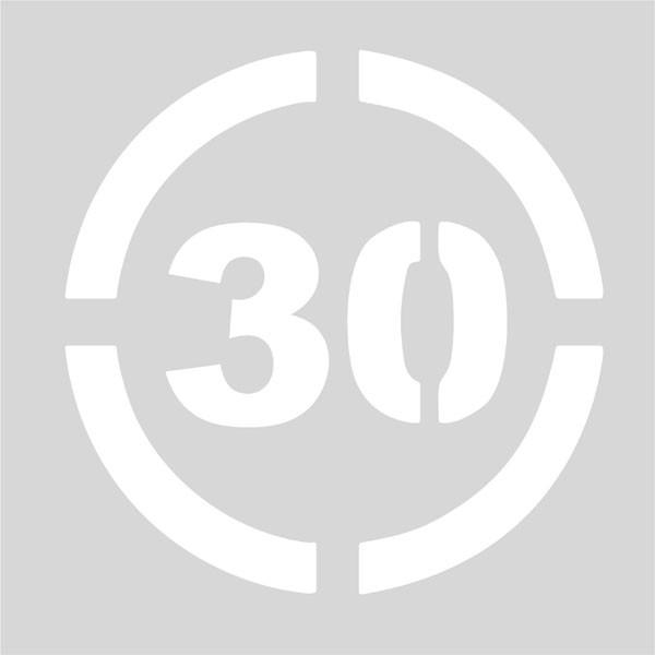 Señalización límite velocidad