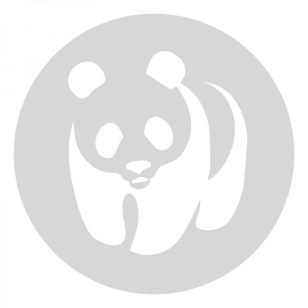 Plantilla pintar señal oso panda camino escolar  Ø 60