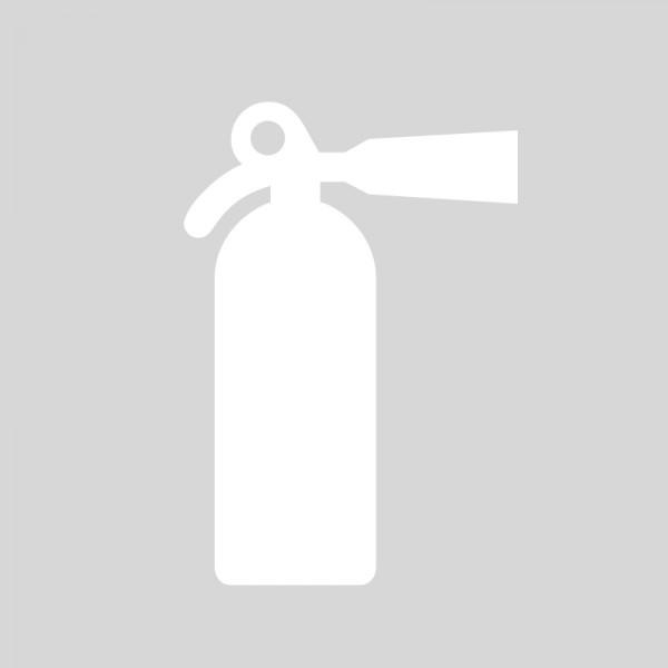 Plantilla pintar señal extintor
