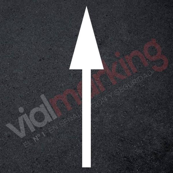 Flecha normativa marca vial