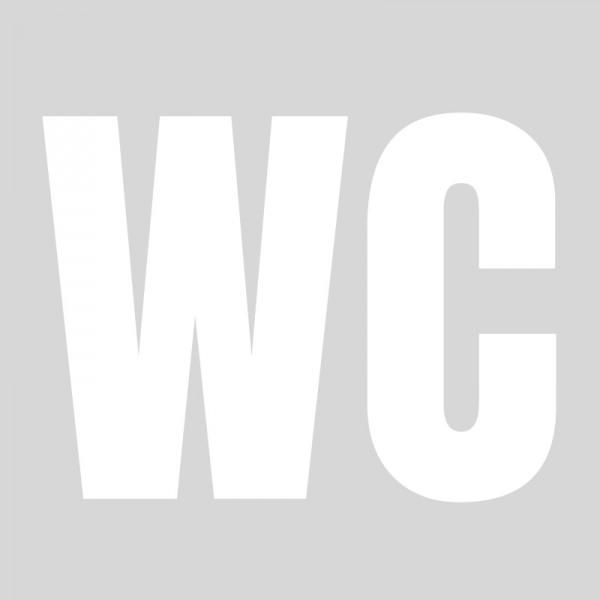 Plantilla para pintar señalética wc