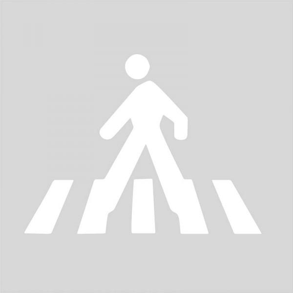 Plantilla para pintar paso peatonal