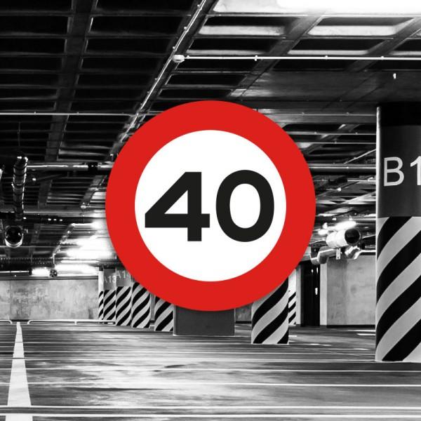 Señal de circulación R301 Velocidad máxima
