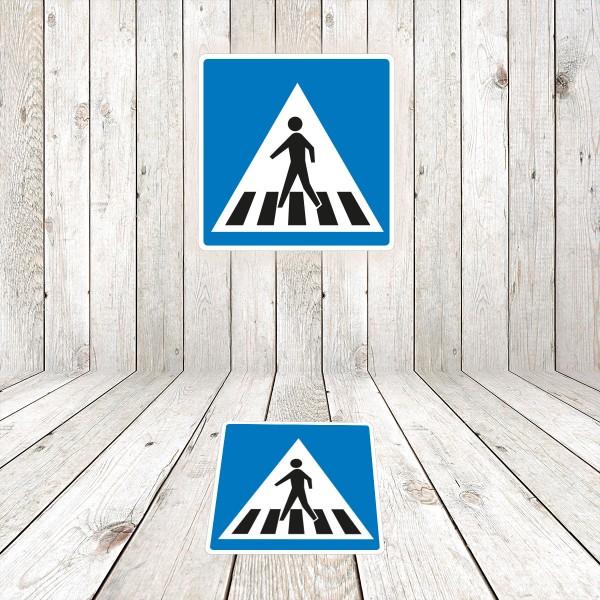 Vinilo Señal de circulación S13 Situación de un paso de peatones