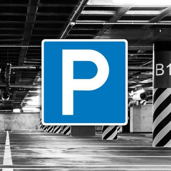 Señal de circulación S17 Parking