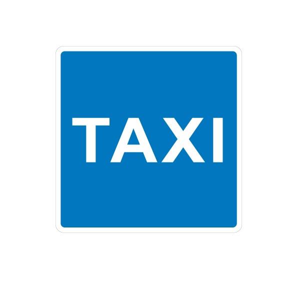 Señal de circulación S18 Estacionamiento reservado para Taxis ...