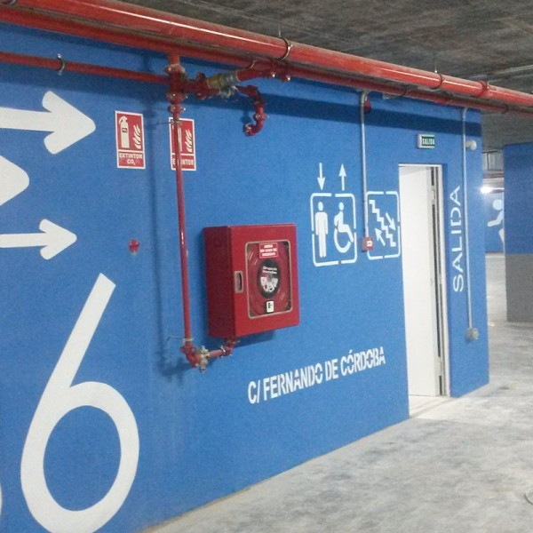 Pack 'abecedario' de plantillas pintar letras en suelos y paredes