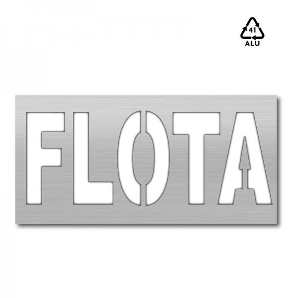 Plantilla pintar señal FLOTA L