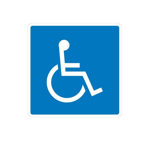 Señal de circulación Reservado Minusválidos / Discapacitados