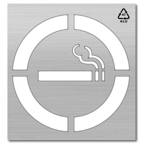 Plantilla pintar señal zona de fumadores