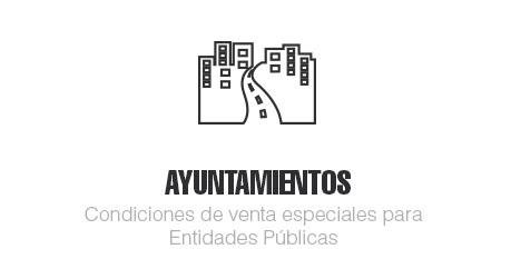 Señalización horizontal Ayuntamientos
